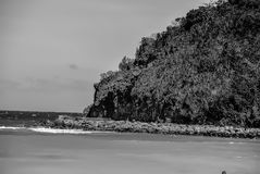 Rock Outcropping in Boracay stock images