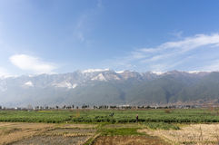 Scenery of Cangshan mountain Royalty Free Stock Images