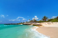 Scenery of Caribbean Sea Stock Images