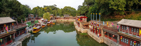 Scenery categories: Beijing Summer Palace Suzhou Street Royalty Free Stock Photography