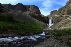 Scenery categories: Changbai Mountain Falls Royalty Free Stock Photos