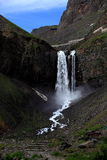 Scenery categories: Changbai Mountain Falls Royalty Free Stock Image