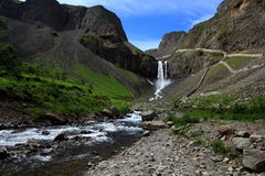 Scenery categories: Changbai Mountain Falls Royalty Free Stock Photography