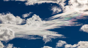 Scenery categories: colorful clouds Stock Photography