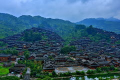 Scenery categories: Guizhou Miao Village. Eastphoto, tukuchina, Scenery categories: Guizhou Miao Village Royalty Free Stock Photos