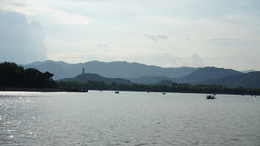 Scenery categories: Kunming Lake in the Summer Palace Royalty Free Stock Image