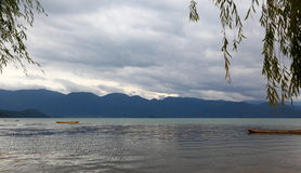 Scenery categories: Lugu Lake Royalty Free Stock Images