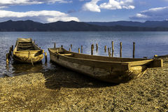 Scenery categories: Lugu Lake scenery Royalty Free Stock Photo