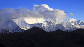 Scenery categories: Sichuan Western Sichuan Ganzi Kangding Gonggar peaks Concept Royalty Free Stock Image