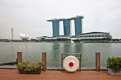 Scenery categories: Singapore cityscape Stock Photography