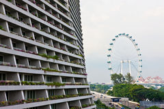 Scenery categories: Singapore cityscape Stock Photo