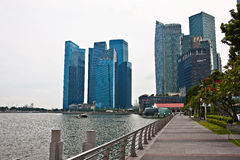 Scenery categories: Singapore cityscape Royalty Free Stock Image