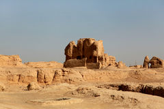 Scenery categories: Turpan Jiaohe Ancient City Stock Photography