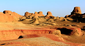 Scenery categories: Xinjiang Urho Ghost City Stock Images