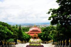 Scenery categories: Yunnan Mengle Dafosi Royalty Free Stock Photo
