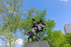 Scenery of Central Park at spring in NYC Royalty Free Stock Images