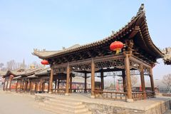 Chinese classical pavilion stock images