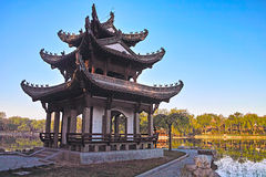 Scenery of a Chinese park Royalty Free Stock Photography