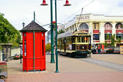 Scenery of Christchurch street Royalty Free Stock Images