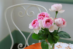 Scenery of the decoration of the flower in the room Stock Photo