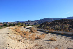 Scenery of Desert Area Royalty Free Stock Photography