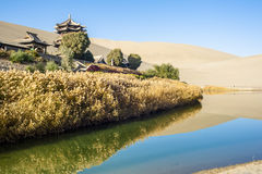 Scenery of Dunhuang, Gansu of China Stock Photography
