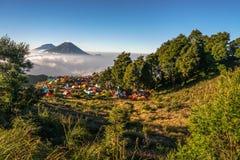 Prau mountain royalty free stock photography