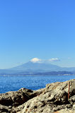 Scenery of the Enoshima Chigogafuti. Stock Photo