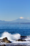 Scenery of the Enoshima Chigogafuti. stock photography