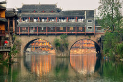 The scenery of Fenghuang in Hunan,China Royalty Free Stock Photos