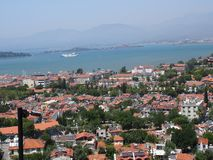 View of Fethiye royalty free stock photography