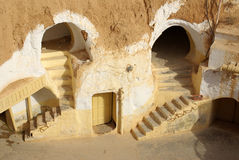 Scenery for the film. Star Wars, Tunisia, Africa Stock Photo