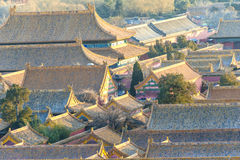 Scenery of Forbidden City Royalty Free Stock Photography