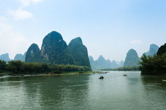 The scenery of guilin, China Royalty Free Stock Photography
