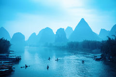 The scenery of guilin is world-renowned Royalty Free Stock Image