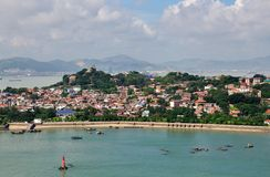The scenery of Gulang island Stock Images
