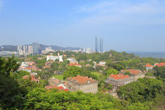 Scenery of gulangyu island Stock Photo