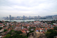 The scenery of Gulangyu Island and Xiamen Stock Photography