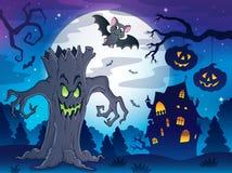 Scenery with Halloween thematics 2 Stock Photo