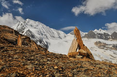 Scenery in Himalayas Royalty Free Stock Image