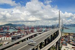 The scenery of Hong Kong Royalty Free Stock Image