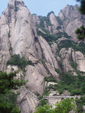 The scenery of Huangshan in China. And it is a beautiful place Royalty Free Stock Images