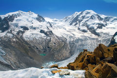 Scenery In Switzerland Royalty Free Stock Photography