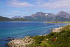 Scenery on island of Senja Royalty Free Stock Photo