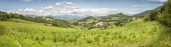 Scenery from Italy Marche Stock Photos