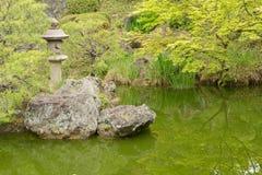 Scenery of Japanese garden Stock Photo