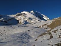 Scenery just before Thorung La Pass, Nepal Stock Photo