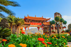The scenery in kunming. Four spring-like city, kunming city in yunnan province Stock Photography