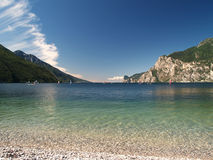 Scenery of Lake Garda royalty free stock images