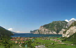 Scenery of Lake Garda royalty free stock image